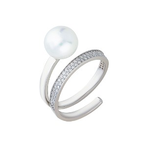 Silver Pearls by Given Sõrmus W58904074