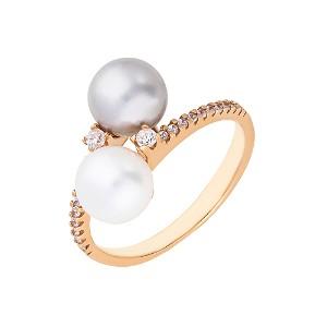 Gold Pearls Sõrmus W21691064